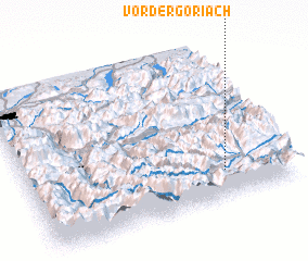 3d view of Vordergöriach