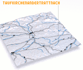 3d view of Taufkirchen an der Trattnach