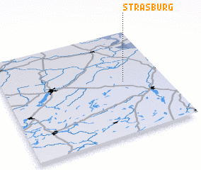 3d view of Strasburg