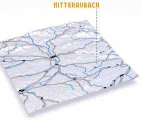 3d view of Mitteraubach