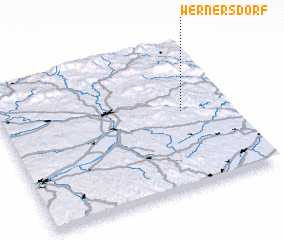 3d view of Wernersdorf