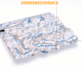 3d view of Vorderweisspriach