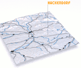 3d view of Hackendorf