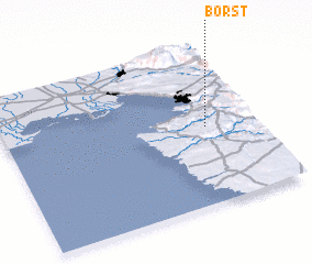 3d view of Boršt