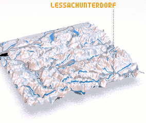 3d view of Lessach Unterdorf