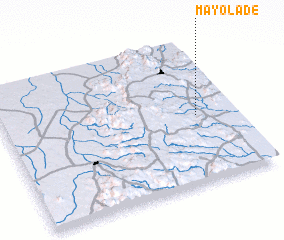 3d view of Mayo Ladé