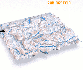 3d view of Ramingstein