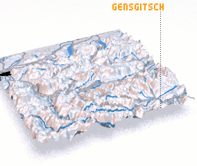 3d view of Gensgitsch