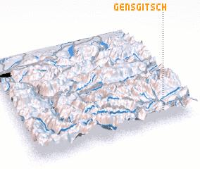 3d view of Gensgitsch