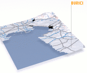 3d view of Burići