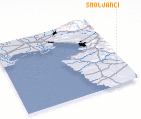 3d view of Smoljanci