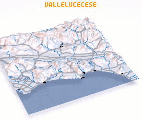 3d view of Valleluce-Cese