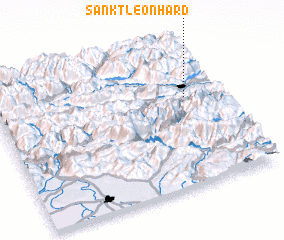 3d view of Sankt Leonhard