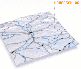 3d view of Hohenschlag