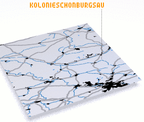 3d view of Kolonie Schönburgsau