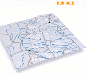 3d view of Mouhour