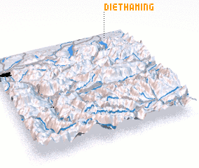 3d view of Diethaming