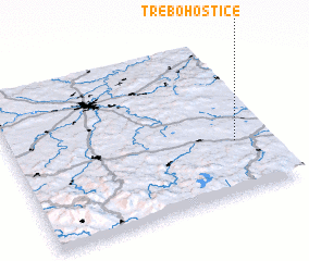 3d view of Třebohostice