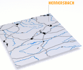 3d view of Hennersbach