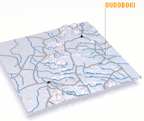 3d view of Ouro Boki