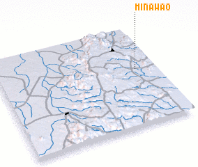 3d view of Minawao