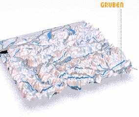 3d view of Gruben