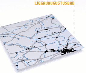 3d view of Liegau-Augustusbad