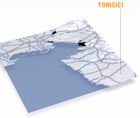 3d view of Tomišići