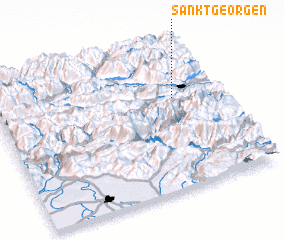 3d view of Sankt Georgen