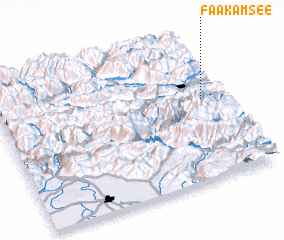 3d view of Faak am See