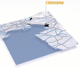 3d view of Cerkovna