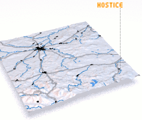 3d view of Hoštice