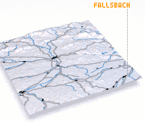 3d view of Fallsbach
