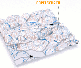 3d view of Goritschach