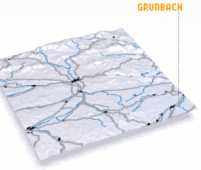 3d view of Grünbach