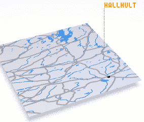 3d view of Hällhult