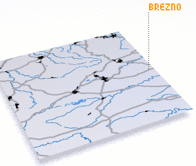 3d view of Březno