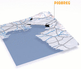 3d view of Podbreg