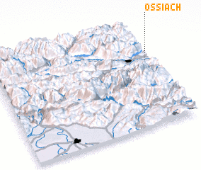 3d view of Ossiach