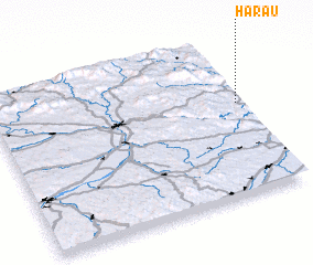 3d view of Harau