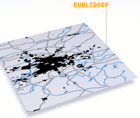 3d view of Ruhlsdorf