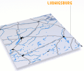 3d view of Ludwigsburg