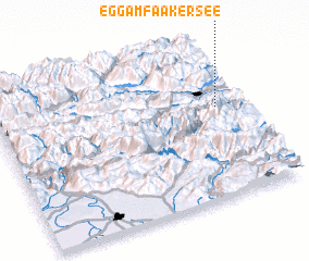 3d view of Egg am Faaker See