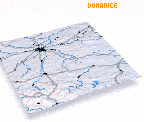 3d view of Domanice