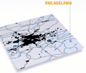 3d view of Philadelphia