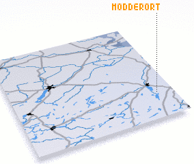3d view of Modderort