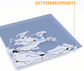 3d view of Ostseebad Zinnowitz