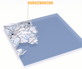 3d view of Kurozakochō