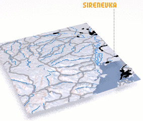 3d view of Sirenevka