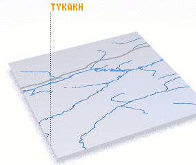 3d view of Tykakh
